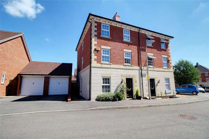 4 Bedrooms Semi Detached House for sale in Chrysanthemum Drive, Shinfield, Reading, Berkshire, RG2
