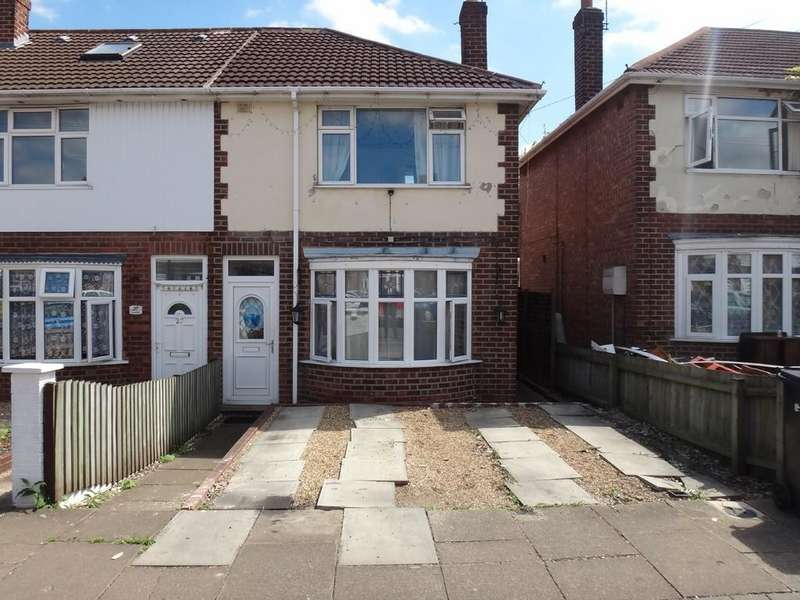 3 Bedrooms End Of Terrace House for sale in Swainson Road, Northfields , Leicester