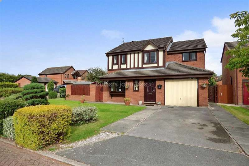4 Bedrooms Detached House for sale in Elmwood Grove, Winsford
