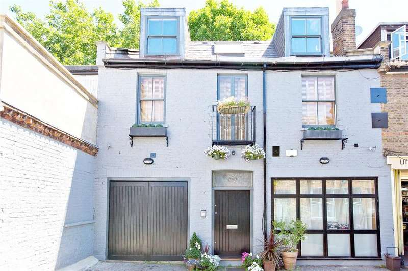3 Bedrooms House for sale in Lambolle Place, Belsize Park, London, NW3