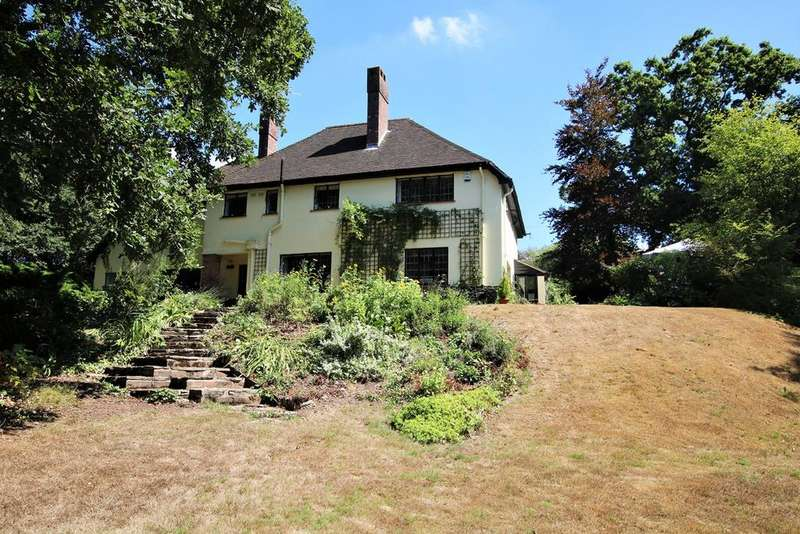 5 Bedrooms Detached House for sale in Crow Hill, Crow, Ringwood, BH24