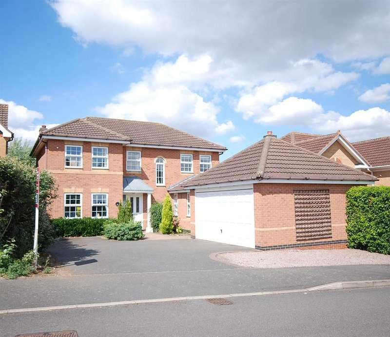 4 Bedrooms Detached House for sale in Coltfoot Way, Melton Mowbray