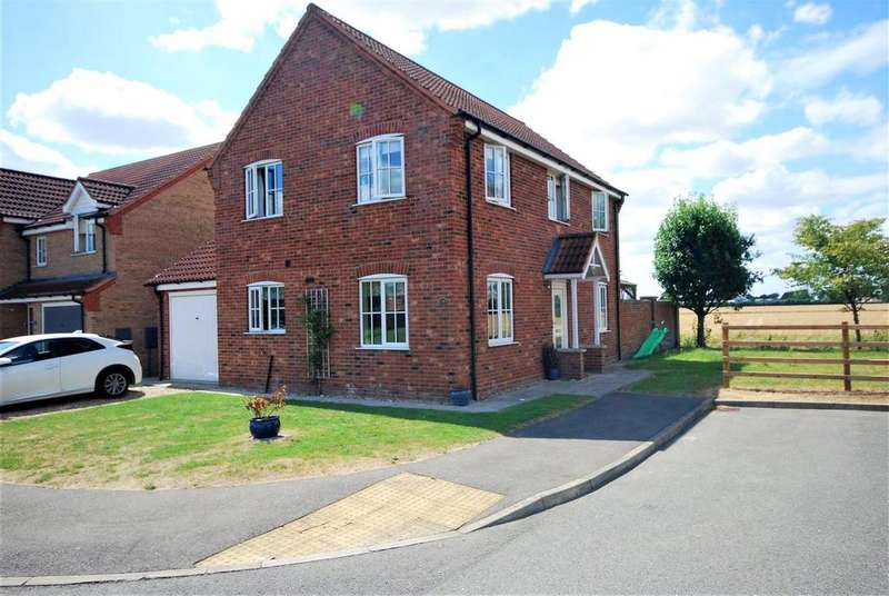 3 Bedrooms Detached House for sale in Gershwin Lane, Spalding
