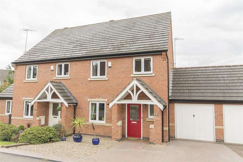 3 Bedrooms Semi Detached House for sale in Chadwell Close, Hasland, Chesterfield
