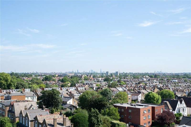 2 Bedrooms Flat for sale in Broadway House, 2 Stanley Road, Wimbledon, SW19