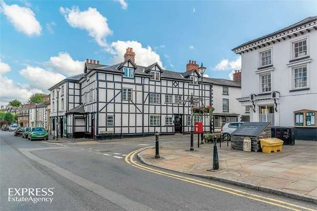 6 Bedrooms End Of Terrace House for sale in Market Street, Llanfyllin, Powys