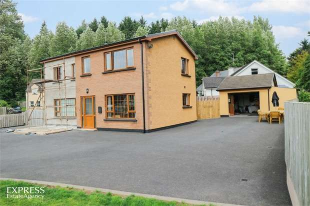 3 Bedrooms Detached House for sale in Hillhead Road, Clabby, Fivemiletown, County Fermanagh