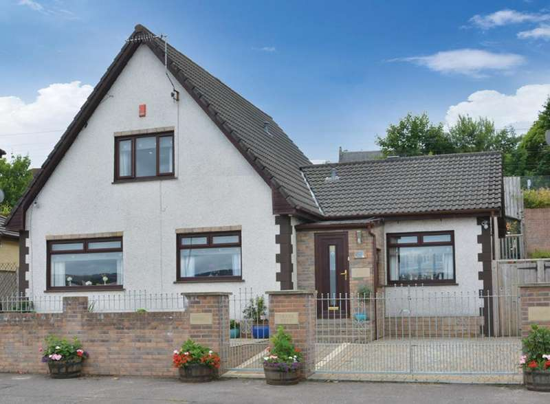 3 Bedrooms Detached House for sale in Skara Brae Main Road, Langbank, PA14 6XR