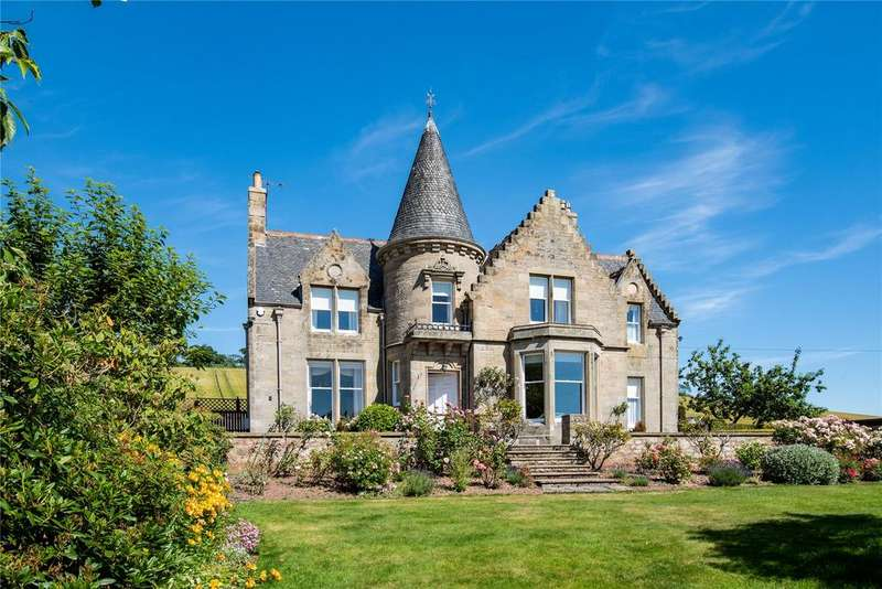 4 Bedrooms Detached House for sale in Kirkwell House, Teindhillgreen, Duns, Berwickshire