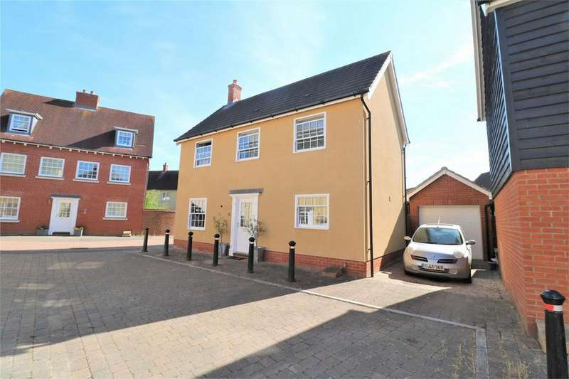 4 Bedrooms Detached House for sale in Carlton Mews, Wivenhoe, Colchester, Essex