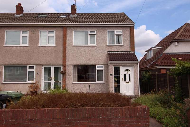 3 Bedrooms End Of Terrace House for sale in Alexandra Place, Bristol, BS16 4QL
