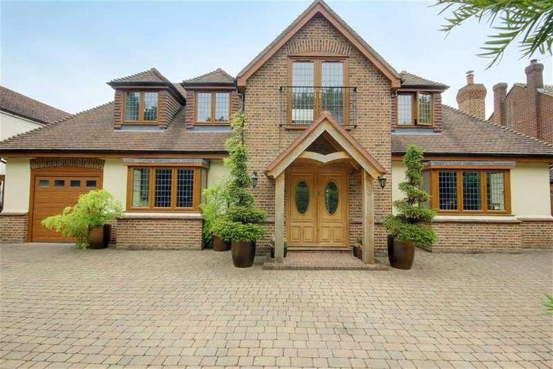 5 Bedrooms Detached House for sale in New Park Road, Newgate Street Village, Hertfordshire