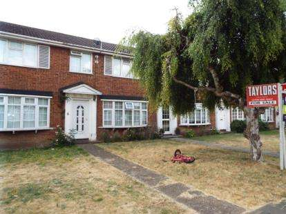 3 Bedrooms Terraced House for sale in Bideford Gardens, Luton, Bedfordshire