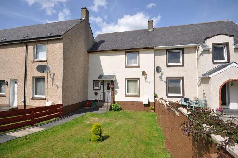 2 Bedrooms Terraced House for sale in 11 Inglis Way, Girvan KA26
