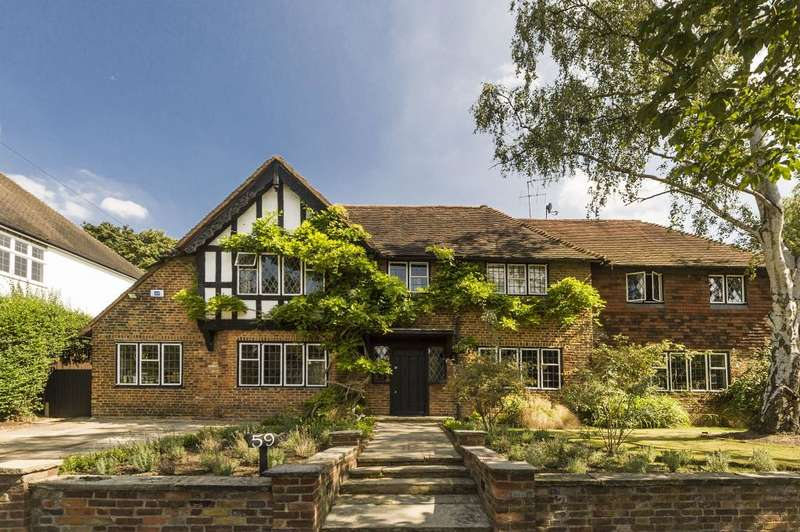 6 Bedrooms Detached House for sale in Deansway, Hampstead Garden Suburb, N2