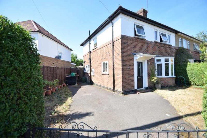 3 Bedrooms Semi Detached House for sale in Crofthill Road, Slough, SL2