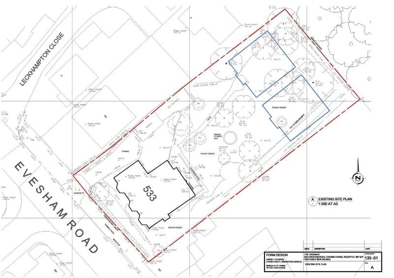 4 Bedrooms Land Commercial for sale in Evesham Road, Redditch, B97 5JP