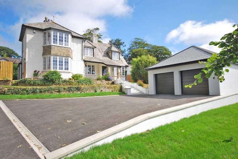 5 Bedrooms Detached House for sale in Tregolls Road, Truro, Cornwall