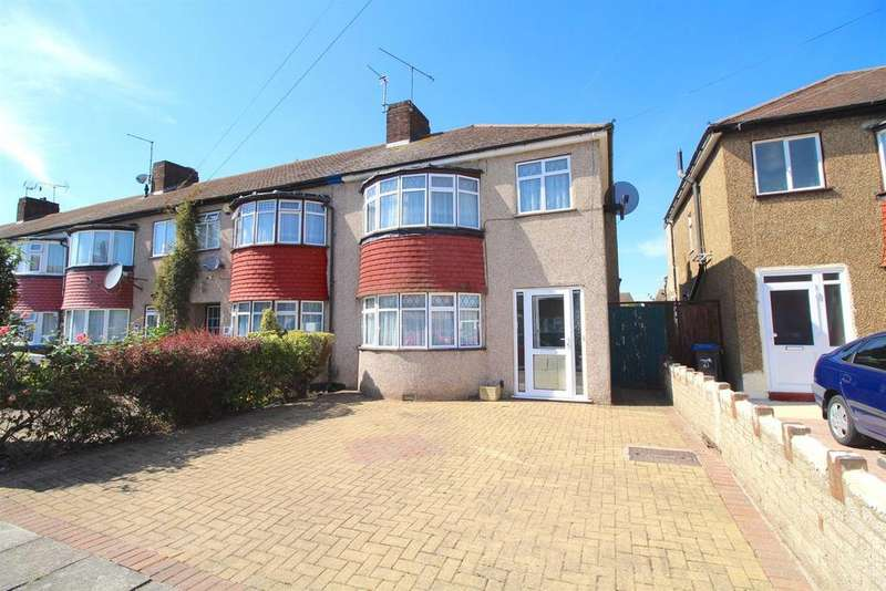 3 Bedrooms End Of Terrace House for sale in Shirley Grove, Edmonton, N9