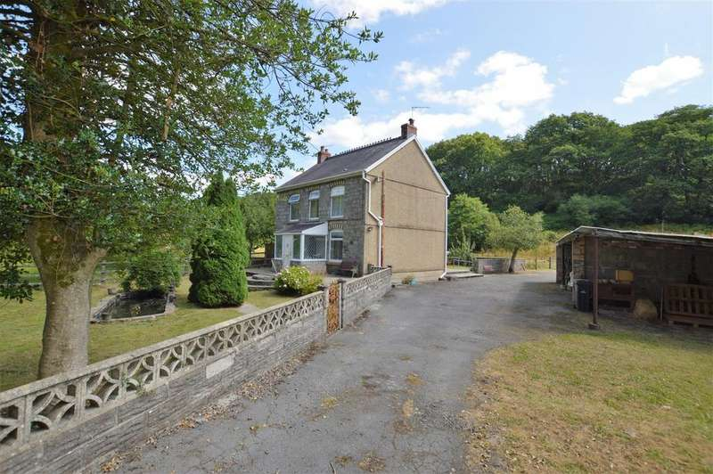 3 Bedrooms Country House Character Property for sale in Ynys Tre Deg, Upper Cwmtwrch Swansea