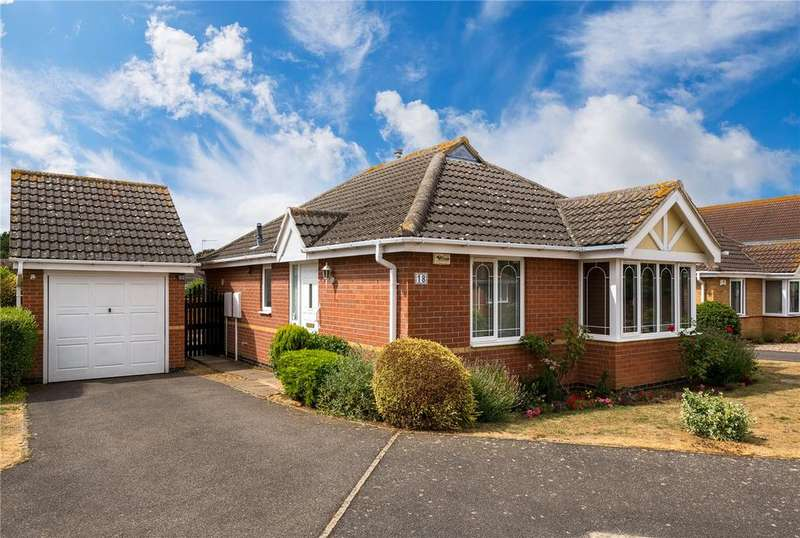 2 Bedrooms Detached Bungalow for sale in Bede Close, Quarrington, Sleaford, Lincolnshire, NG34