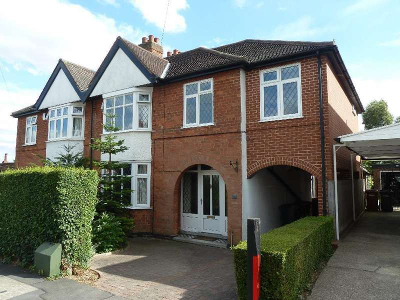 4 Bedrooms Semi Detached House for sale in Melbray Drive, Melton Mowbray