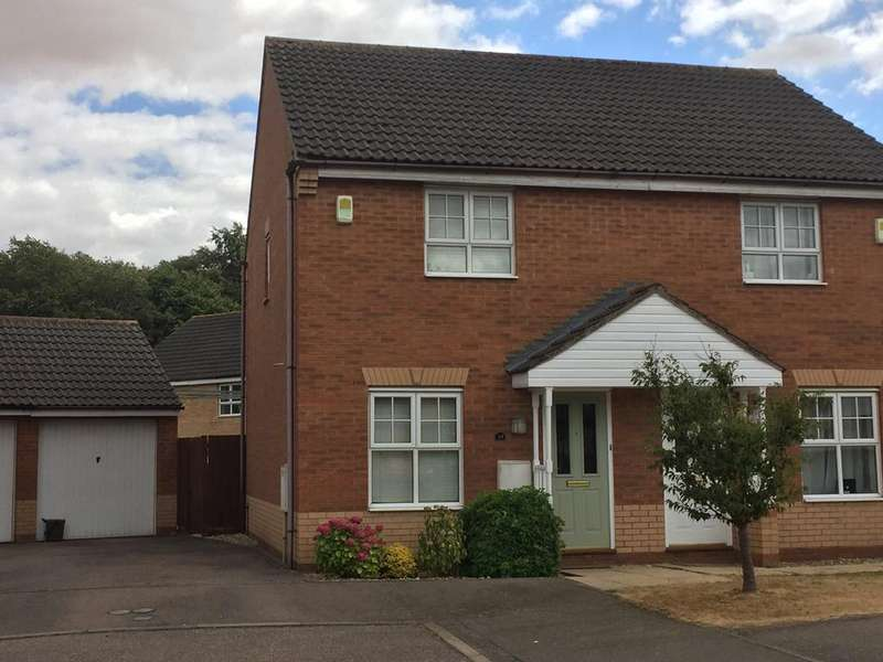 2 Bedrooms Semi Detached House for sale in Wingfield Drive, Potton SG19