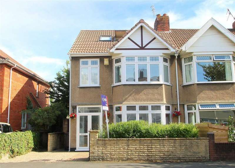 4 Bedrooms Semi Detached House for sale in Smyth Road, Ashton, BRISTOL, BS3