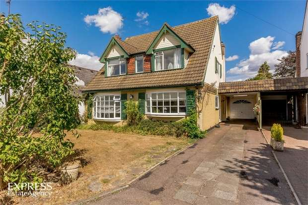 3 Bedrooms Detached House for sale in Warrengate Road, North Mymms, Hatfield, Hertfordshire
