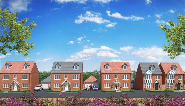 4 Bedrooms Detached House for sale in HELP TO BUY - New Dawn View, GLOUCESTER, GL1 5LQ