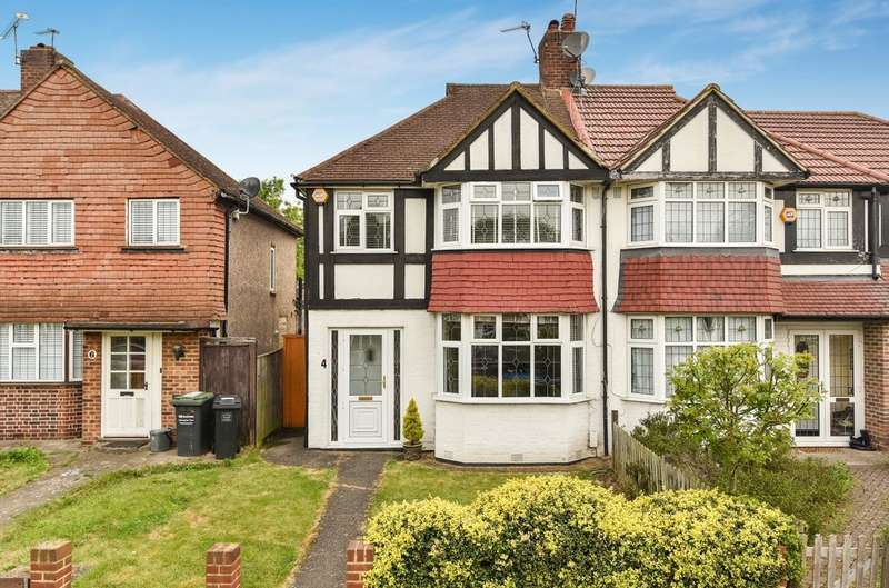 3 Bedrooms Semi Detached House for sale in Jevington Way, London