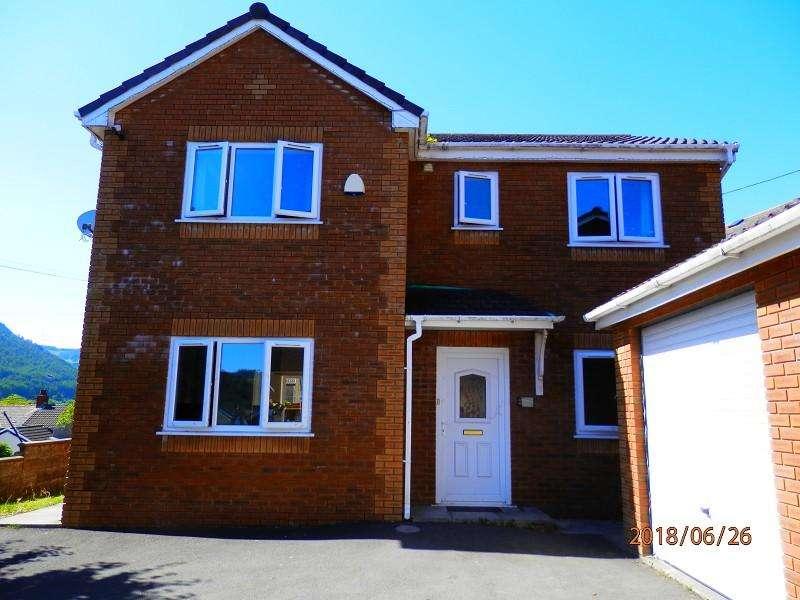 4 Bedrooms Detached House for sale in Golygfa Mynydd Carmel Close, Treherbert, Rhondda Cynon Taff. CF42 5HG