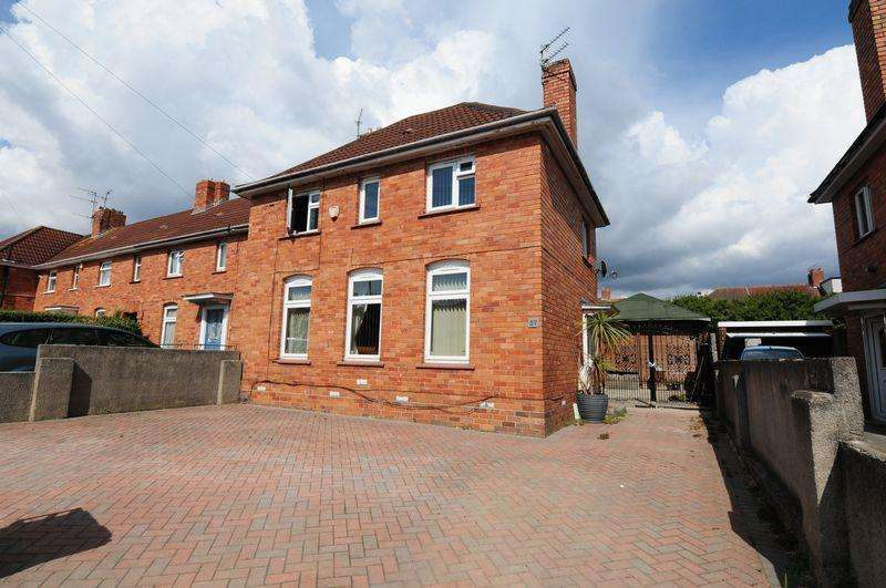 3 Bedrooms End Of Terrace House for sale in Axbridge Road, Knowle, Bristol, BS4
