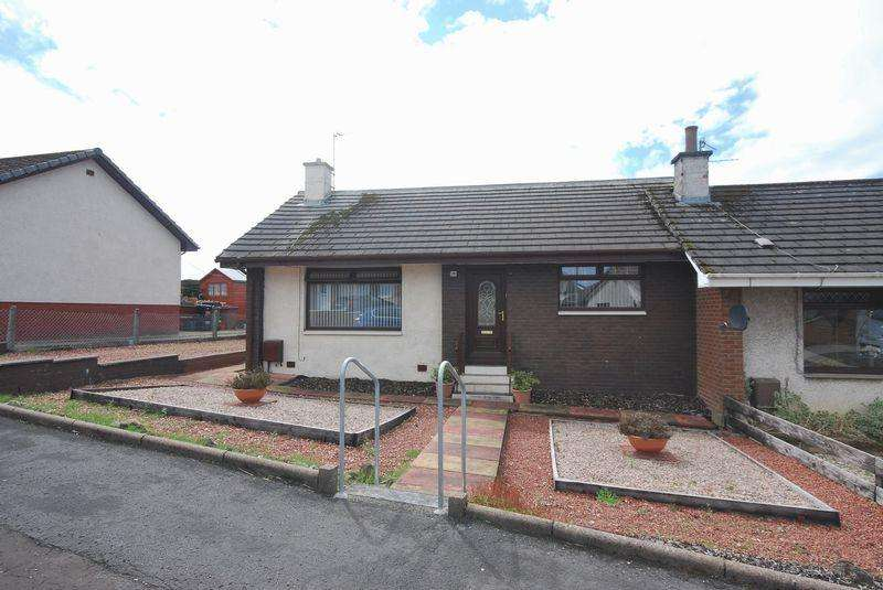 2 Bedrooms Semi Detached Bungalow for sale in 28 Kings Way, Cumnock KA18 1TN