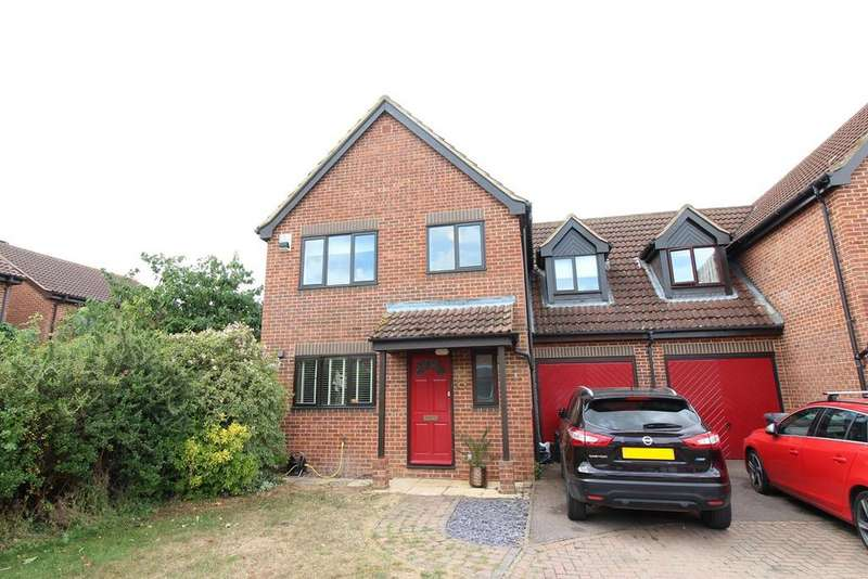 4 Bedrooms Link Detached House for sale in Elgar Drive, Shefford, SG17