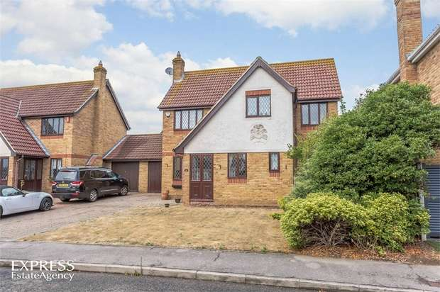 4 Bedrooms Detached House for sale in Rowan Grove, Aveley, South Ockendon, Essex