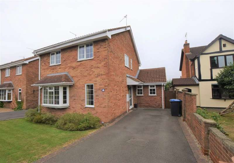 3 Bedrooms Detached House for sale in Harwood Drive , Hinckley