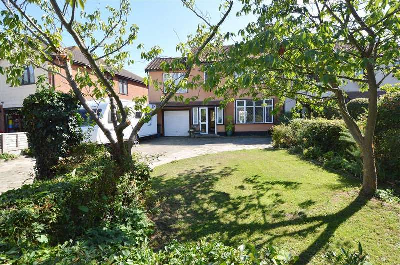 4 Bedrooms Semi Detached House for sale in Rebels Lane, Great Wakering, Southend-on-Sea, Essex, SS3