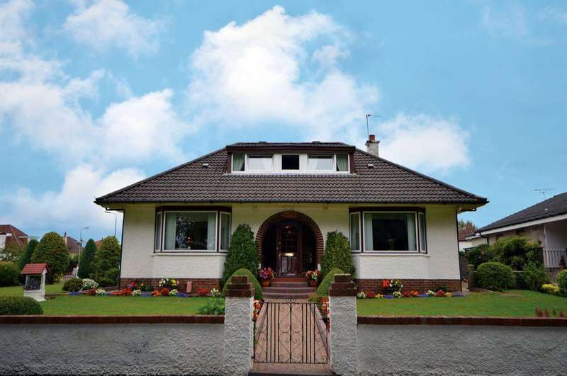 4 Bedrooms Detached Bungalow for sale in 4 Keir Drive, Bishopbriggs, Glasgow, G64 3BT