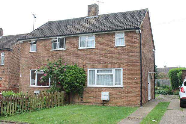 2 Bedrooms Semi Detached House for sale in Lalleford Road, Luton, LU2