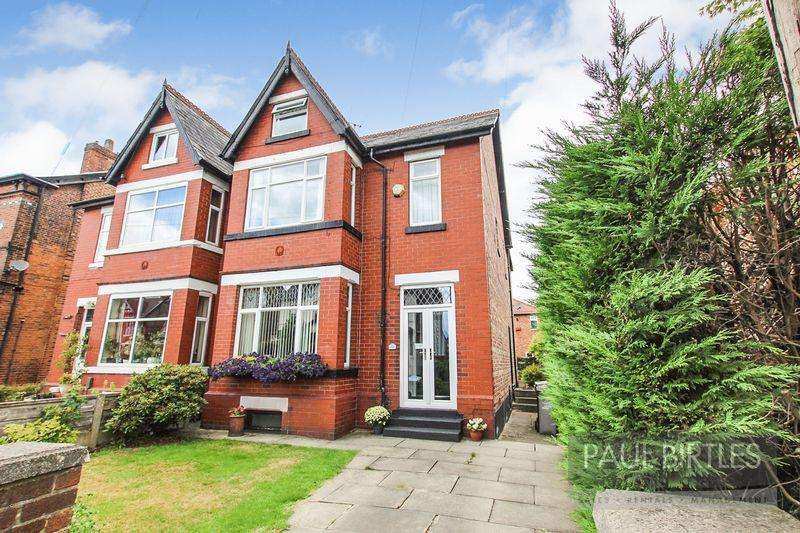 5 Bedrooms Semi Detached House for sale in Church Road, Urmston, Manchester