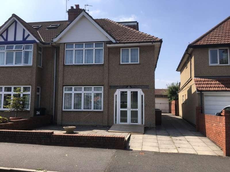 3 Bedrooms Semi Detached House for sale in 22, Cransley Crescent, Bristol