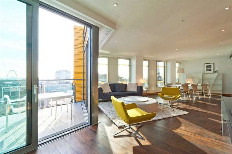3 Bedrooms Apartment Flat for sale in Central St. Giles Piazza, London, WC2H