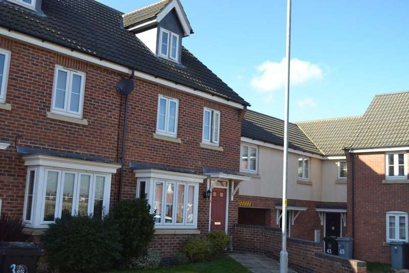 3 Bedrooms Town House for sale in Ormonde Close, Grantham