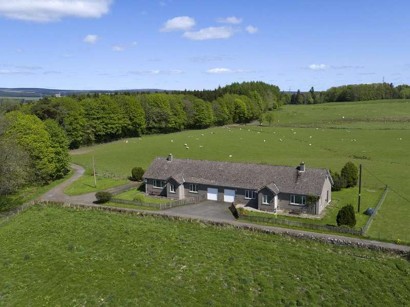 3 Bedrooms Semi Detached House for sale in 2 Cairnston Cottages, Glassingall Estate, Dunblane, Perthshire