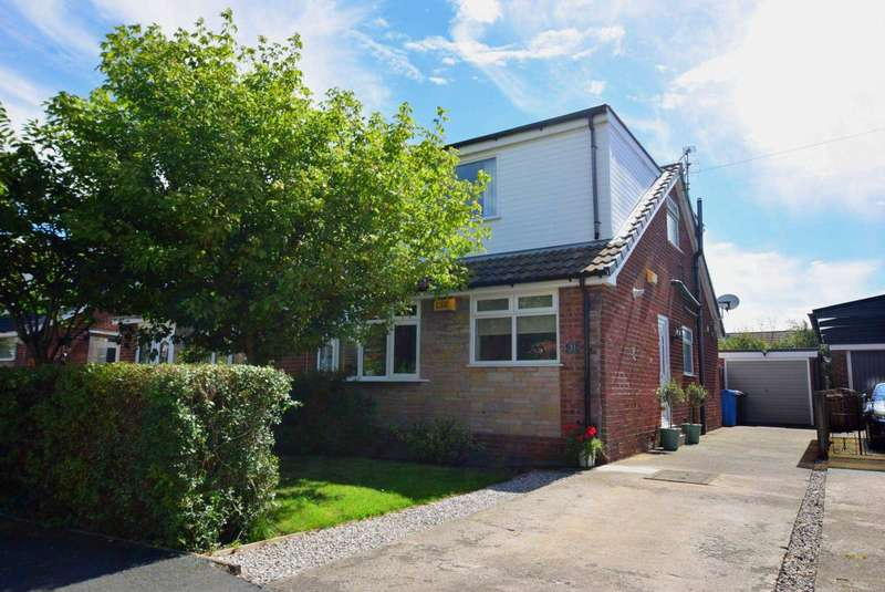 3 Bedrooms Semi Detached Bungalow for sale in Wades Croft, Freckleton