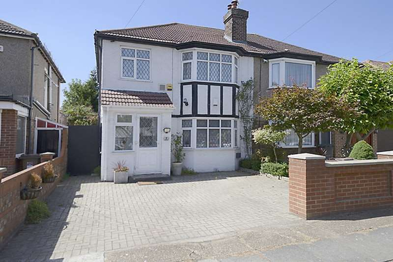 3 Bedrooms Semi Detached House for sale in Stucley Road, Osterley, London, TW5