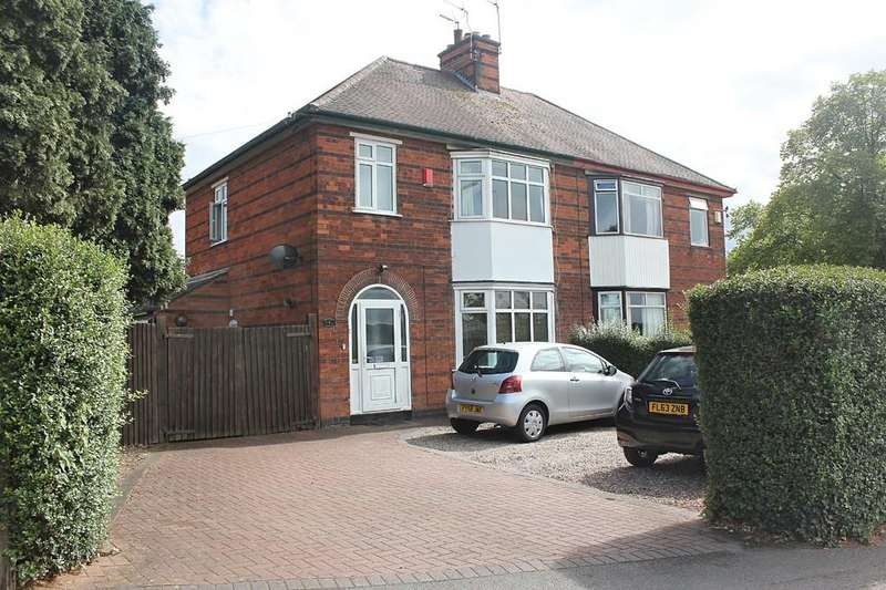 3 Bedrooms Semi Detached House for sale in Stonesby Avenue, Leicester