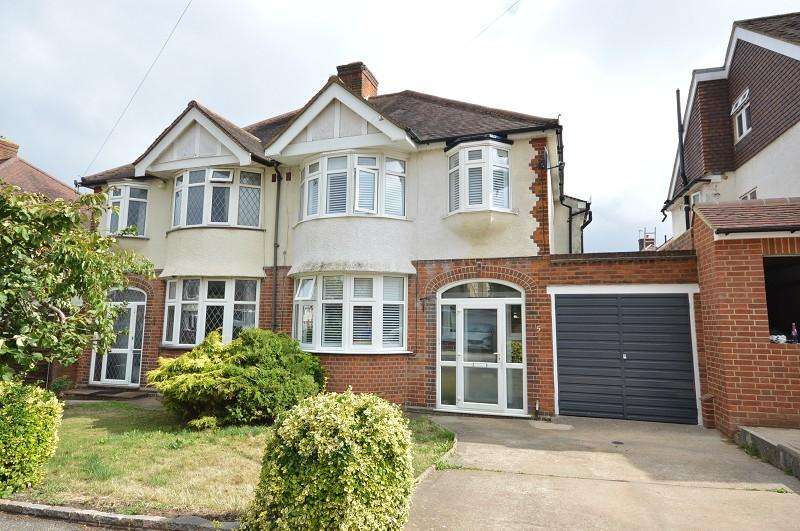 3 Bedrooms Semi Detached House for sale in Bolton Close, Chessington, Surrey, KT9