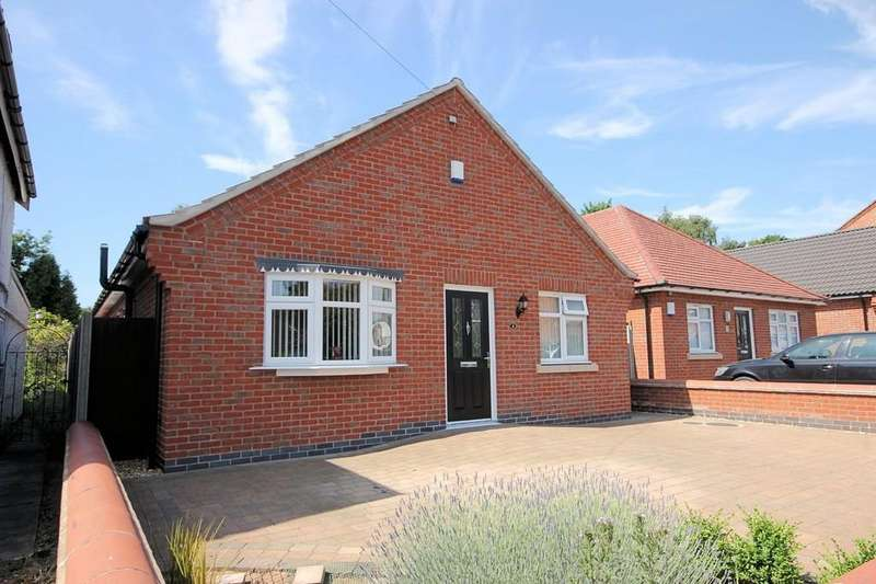 3 Bedrooms Detached Bungalow for sale in Ashleigh Drive, Loughborough